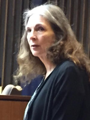 Donna Scrivo during her trial on May 6, 2015 for the murder and dismemberment of her son, Ramsay Scrivo, 32, last year.
