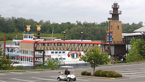 The Lighthouse Point Casino is located just north of downtown Greenville.