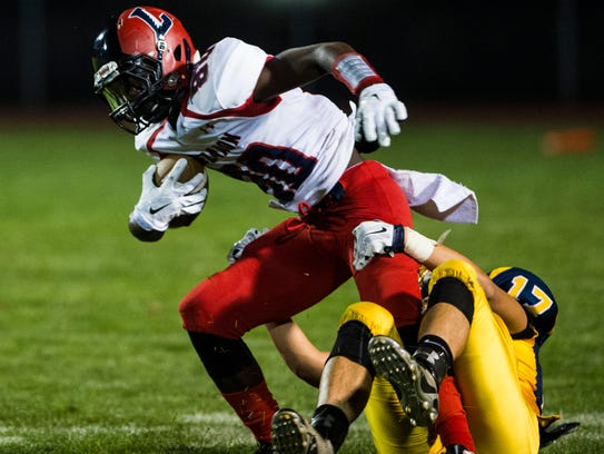 Lebanon junior wideout Jeremiah Beckley returns to