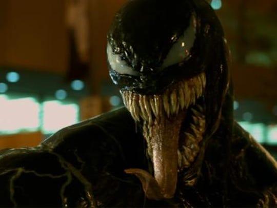 Venom appears in Tom Hardy's 'Venom' trailer.