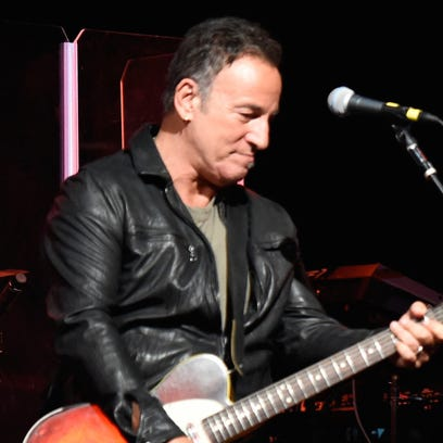 Bruce Springsteen performs onstage during MusiCares