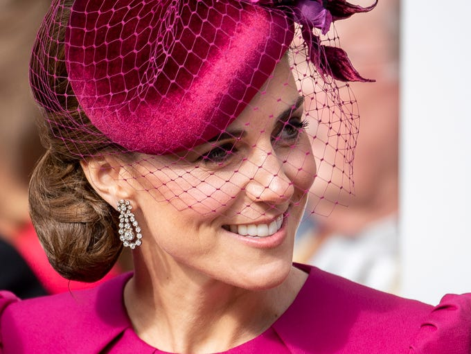 Duchess Kate of Cambridge attended the wedding of her