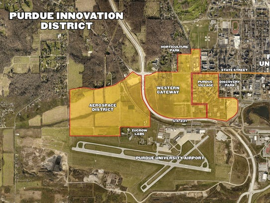 This shows the outline of a project Purdue is dubbing