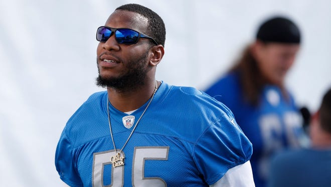 Lions tight end Eric Ebron had two catches for 58 yards in Sunday's 20-15 loss to the Steelers at Ford Field.