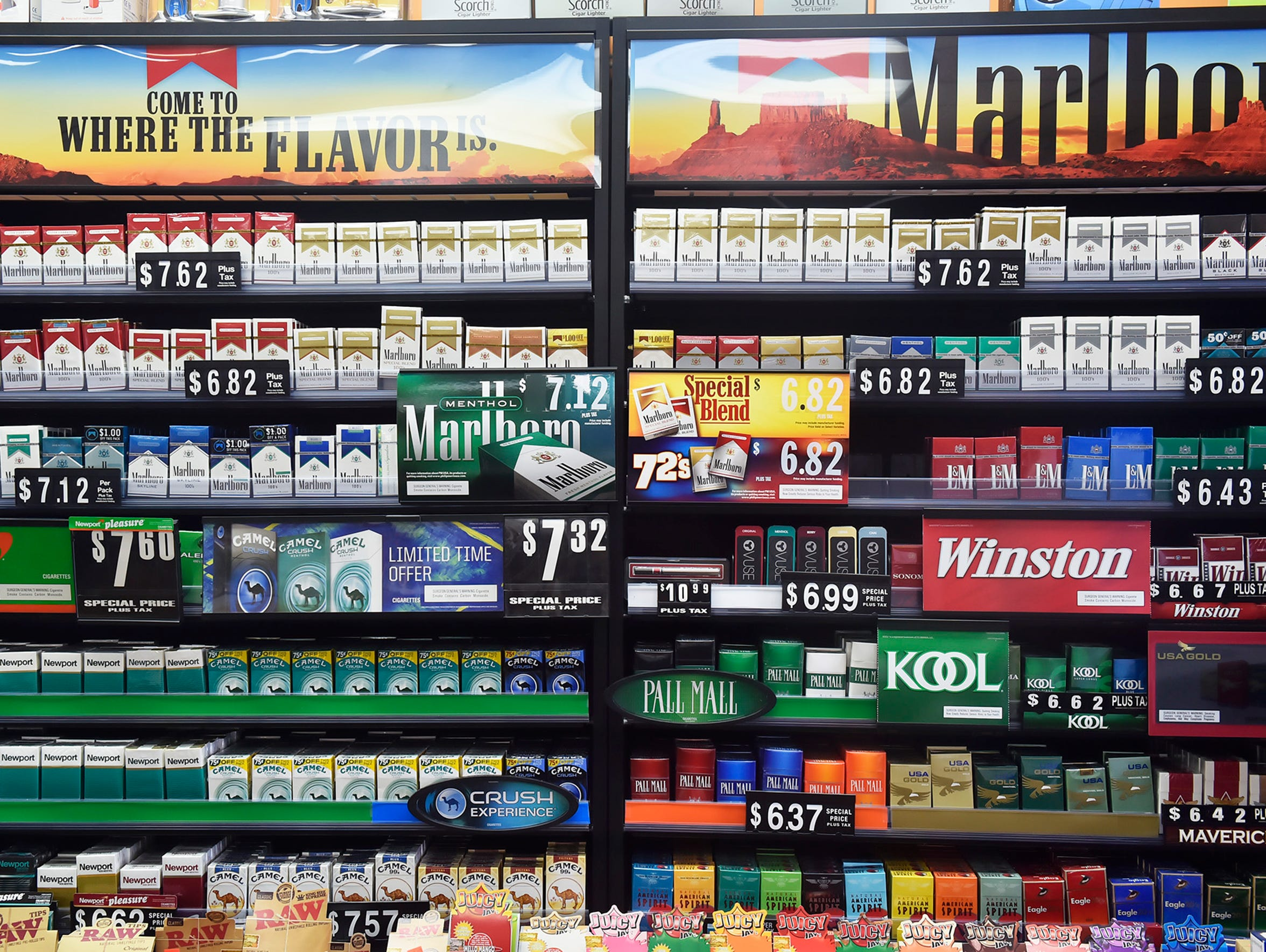 Current cigarette prices after Aug. 1, there was an