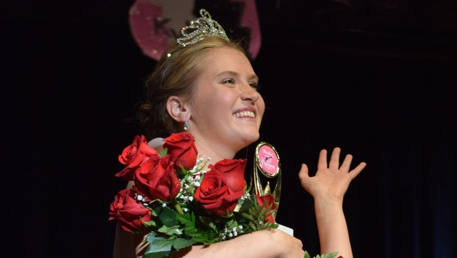 Samantha Price, 17, of Millville was crowned Miss Holly City 2016 Saturday evening, Sept. 19. The pageant was presented by the Millville Senior High School Class of 2016.