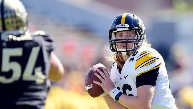 Iowa quarterback C.J. Beathard, a Battle Ground Academy graduate, has played in 13 games for the Hawkeyes but started just one.