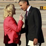 Arizona Gov. Jan Brewer and President Obama: The infamous finger-wag incident