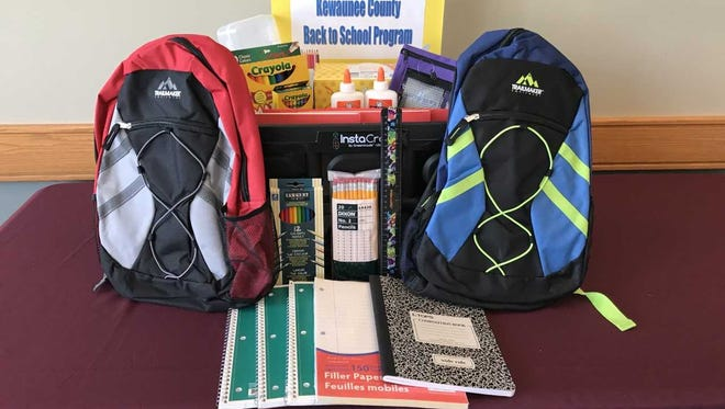 Kewaunee County Public Health Department is accepting registrations, as well as donations, for its 2018-19 Back to School Program