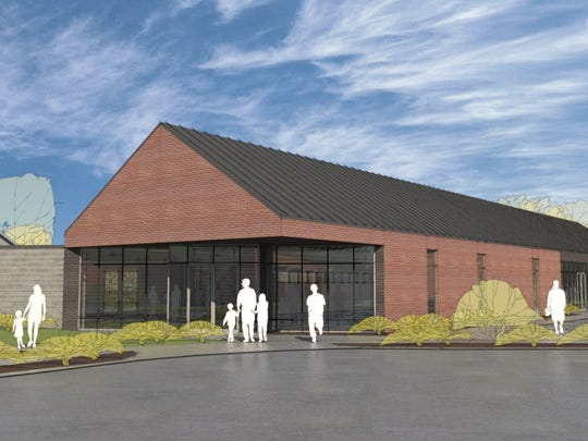 The $2 million Success Center will be built on the