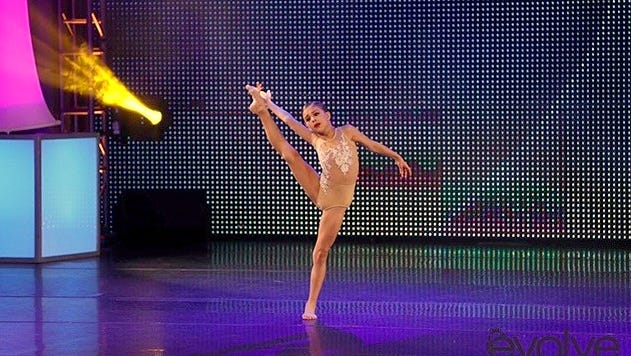 Cameron Voorhees, 9, of Elmira, recently captured fourth place at a national dance competition.