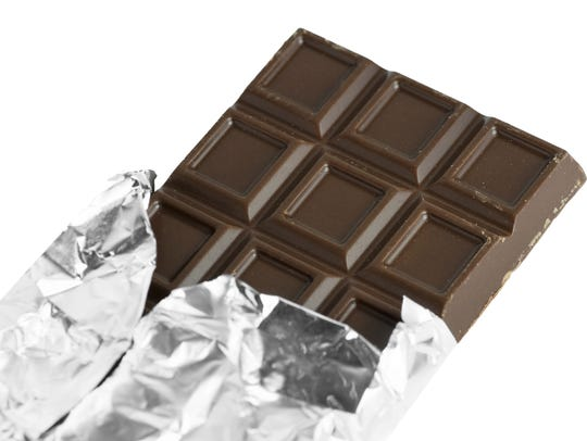 Studies show that the flavonoids in dark chocolate