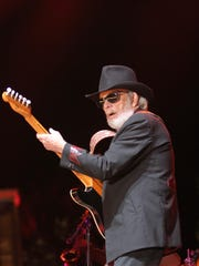 04/24/15 Taya Gray, Special to The Desert SunMerle Haggard performs at Stagecoach in Indio on Friday, April 24, 2015.