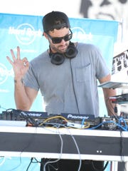 Brody Jenner deejays in 2016 at the Hard Rock Hotel in Palm Springs