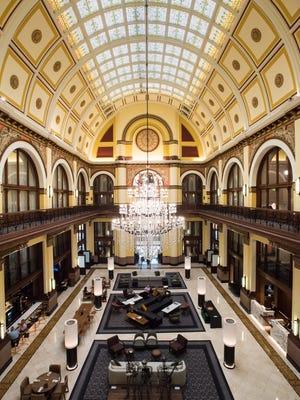 The Union Station Hotel in Nashville, Tenn., Wednesday, Aug. 9, 2017.