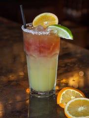 Sierra Bonita Grill will offer the Pomegrate Margarita
