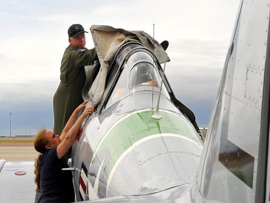 Jeff Geer, the founder of Bravo 396 Flight Foundation,