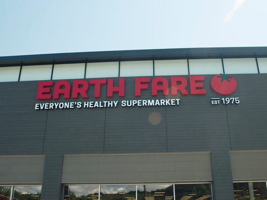 In its renovation of its south Asheville store, Earth Fare has gone for a brighter look with a greater variety of products. The store also has a new facade.