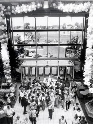Grand opening of the Fox River Mall on July 18, 1984.