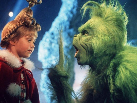 """Dr. Seuss' How The Grinch Stole Christmas,"" first hit the silver screens on Thanksgiving weekend in 2000."