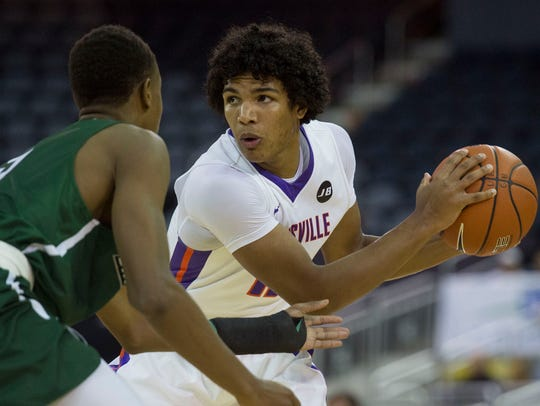 Evansville sophomore Dru Smith has been in early foul trouble the past two games.