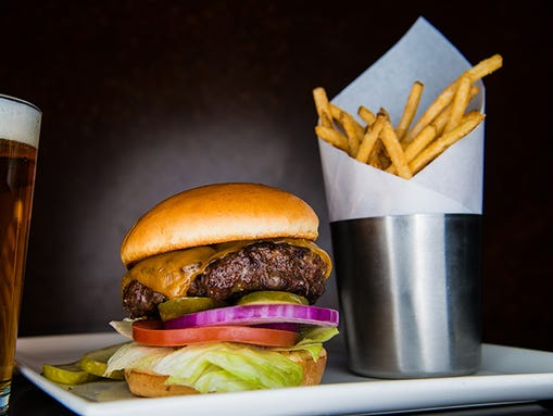 yard house has an expansive menu from shareable snacks to burgers and