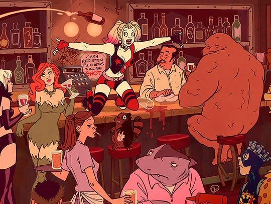Harley Quinn is getting her own adult animated comedy