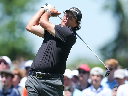 USP PGA: U.S. OPEN - FIRST ROUND S GLF USA NY