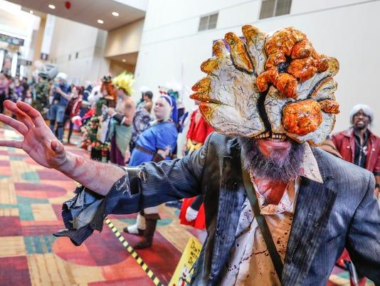 Gen Con attedees strut their stuff in costume