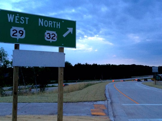 Work on the intersection of Brown County FF and Wisconsin 29 is nearly complete.