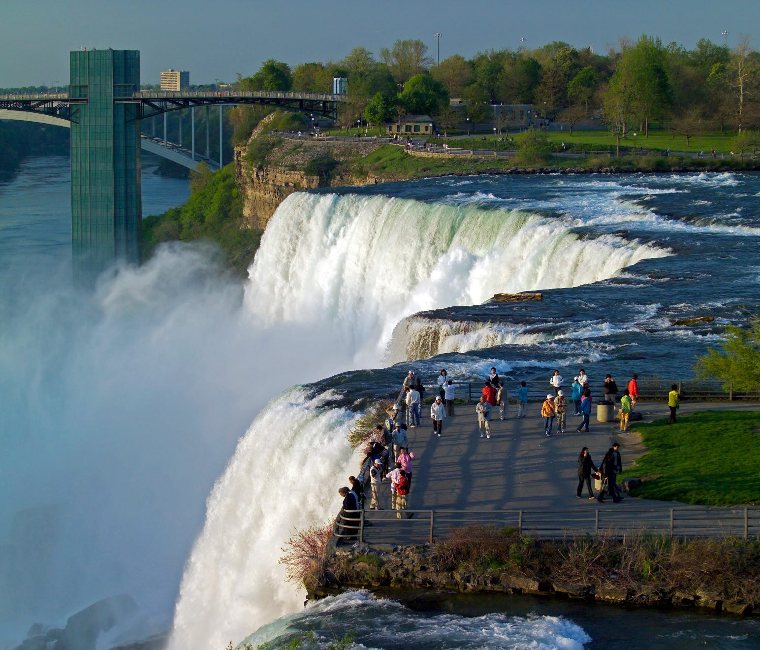 Niagara Falls has attracted tourists for centuries, but locals often don't bother to make the trip.