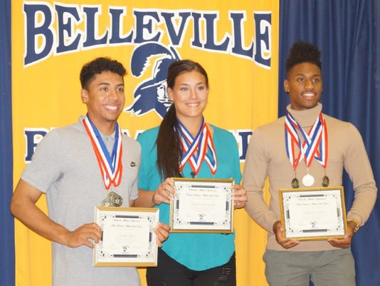 Belleville athletes of the year