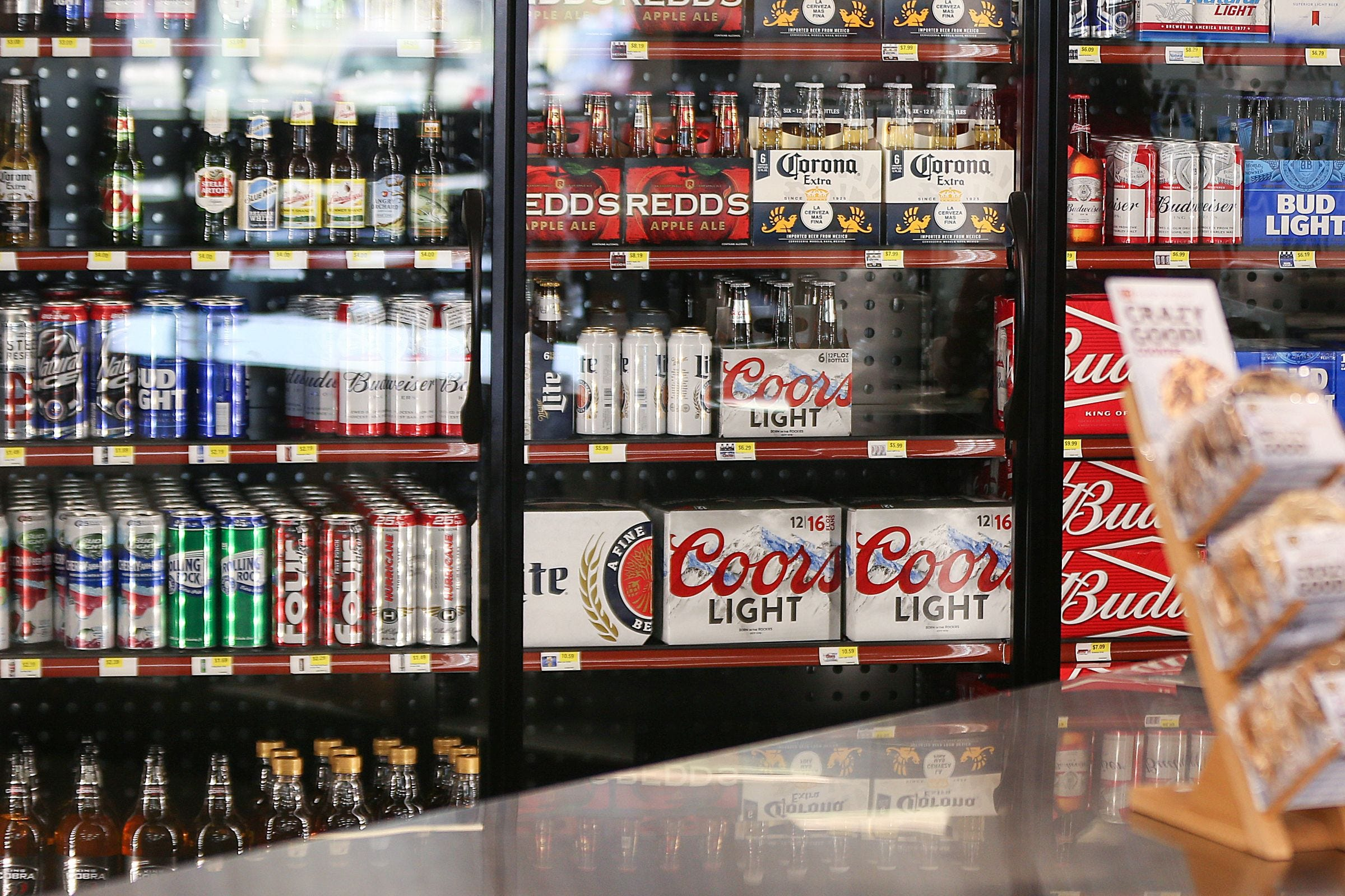 Alcohol: ban on sale. What hours and days are banned from selling alcohol 61