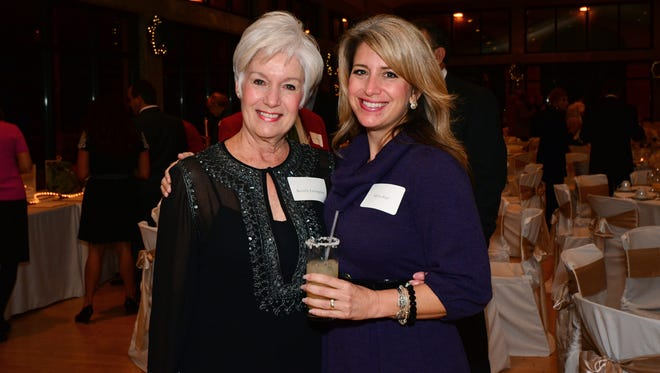 Millie Rice and Beverly Livingston at the PSC Foundation Holiday Grande Gala.