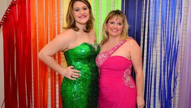 Brooke and Tara Connally at the Big Brothers Big Sisters of Northwest Florida Big Gala.