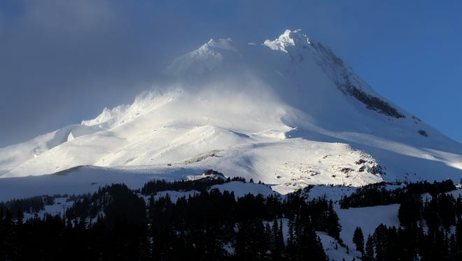 Mount Hood on Friday, Dec. 26, 2014.