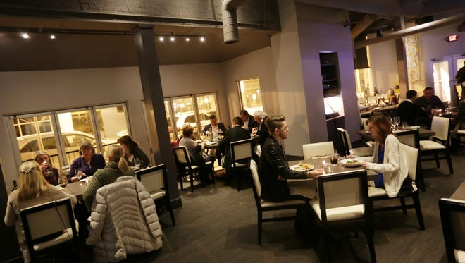 The unannounced gift of free dinners to guests on Feb. 11, 2015, was in celebration of Bistro 82 restaurant's first anniversary and was owner Aaron F. Belen's way of thanking loyal customers