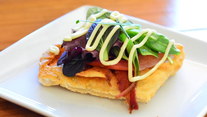 A gourmet BLT is a fun appetizer. Courtesy of Chef Nick Farkas at Pensacola Cooks Kitchen.