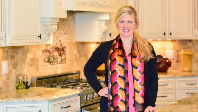 Sarah Robinson, a designer with Jansen Kitchen and Bath.