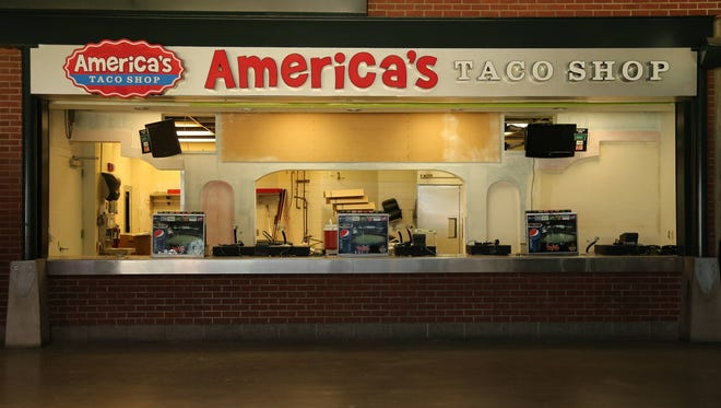 America's Taco Shop is one of the local eateries to be added to the concession offerings at Chase Field this season.
