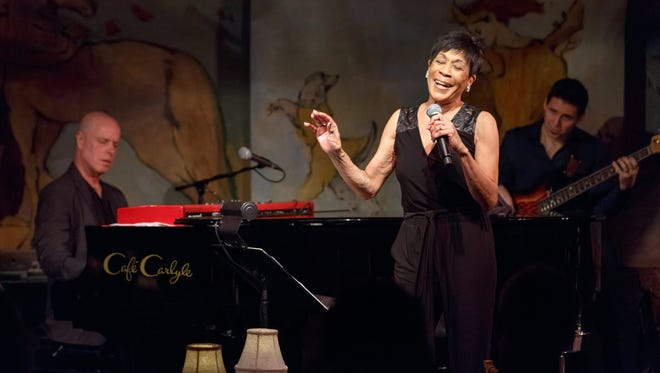 Bettye Lavette performs at the Cafe Carlyle on Jan. 28, 2015. She was an award winner Friday night, April 10, 2015, at the Detroit Music Awards.