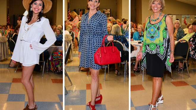 Ladies of Barefoot on the Beach Spring Fashion Show.
