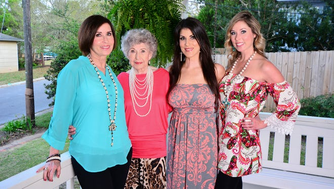 Melody Weber, Hazel Myers, Holly Weber Parker and Susan Weber.