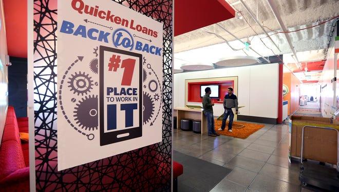 Quicken Loans offices in Detroit.
