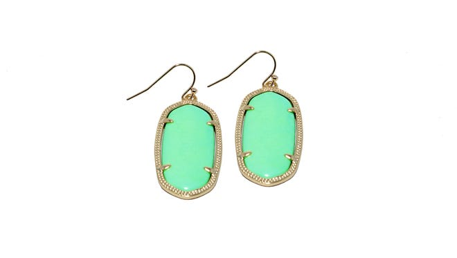 Kendra Scott fashion earrings, $52 at Indigeaux.