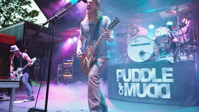 National rock act Puddle of Mudd, including vocalist Wes Scantlin, will play the Cowboy Coast Saloon in Ocean City at 9 p.m. Thursday, July 5. Tickets are $15 in advance, $20 at the door.