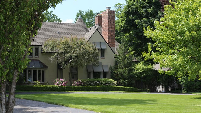 Wallace Frost mansion built in 1930, in Grosse Ile.