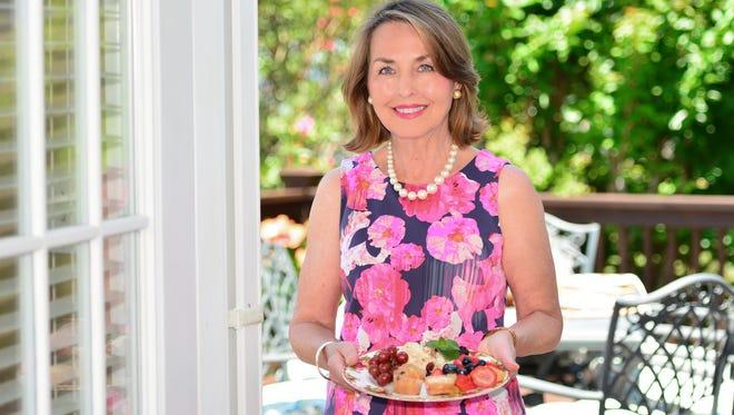 Glenda Olsen enjoys hosting gatherings for both family and friends.