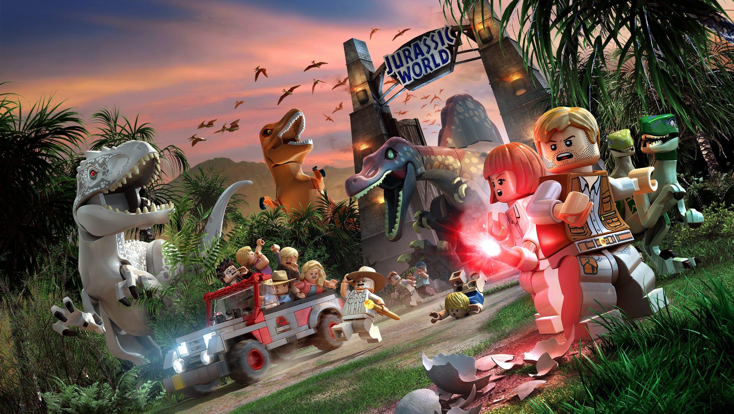 Technobubble: LEGO Jurassic World video game review
