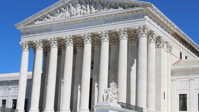 The U.S. Supreme Court, Washington, D.C. PHOTO BY ELLEN CREAGER/DETROIT FREE PRESS SEPTEMBER 2014